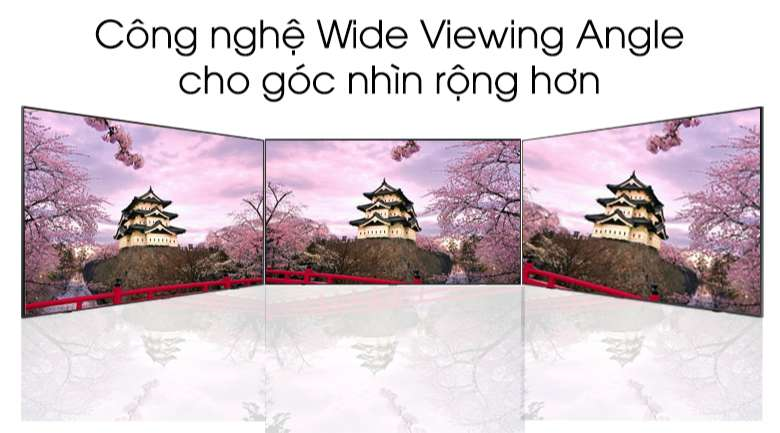 wide viewing angle Smart Tivi QLED Samsung 4K 43 inch QA43Q60T